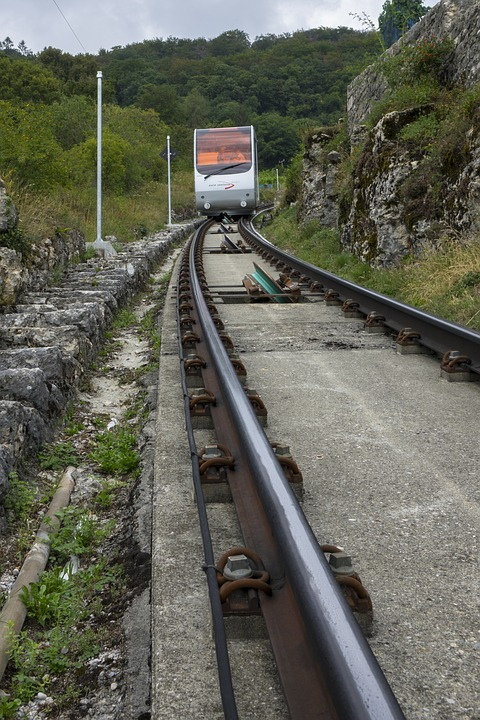 Mountain Railway, Funicular Railway, Wire Rope, Seemed