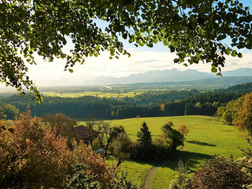Autumn, Landscape, Beautiful View, Mountain Range