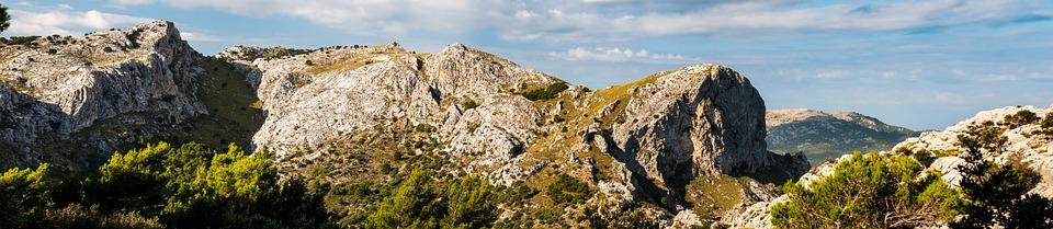 Mallorca, Tramuntana, Mountain Range, Mountains, Cliff