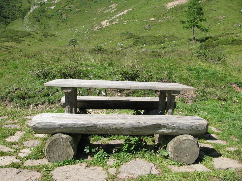 Refreshment, Mountain, Landscape, Valley, Dolomites