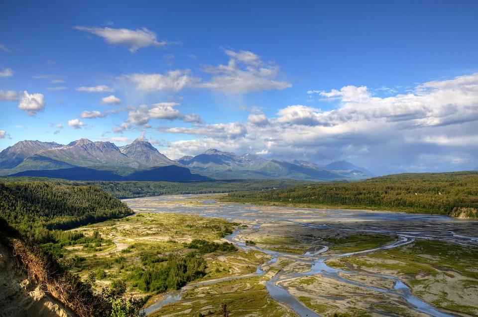 River, Mountains, Landscape, Outdoor, Mountain River