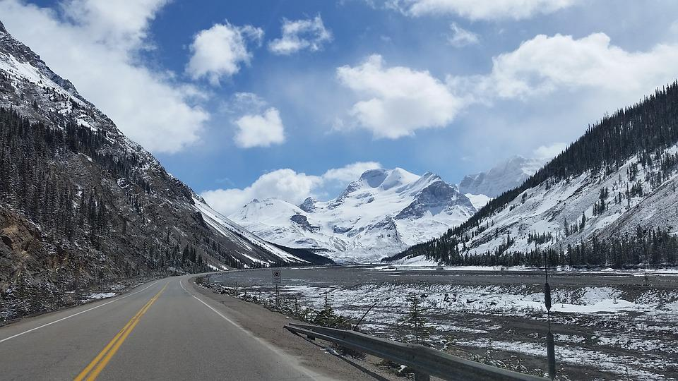Highway, Mountains, Scenic, Landscape, Mountain Road