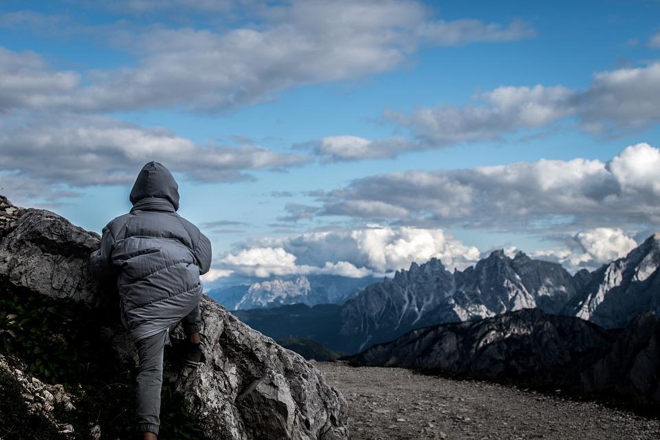 Mountain, Climbing, Rock, Scale, Excursion, Italy