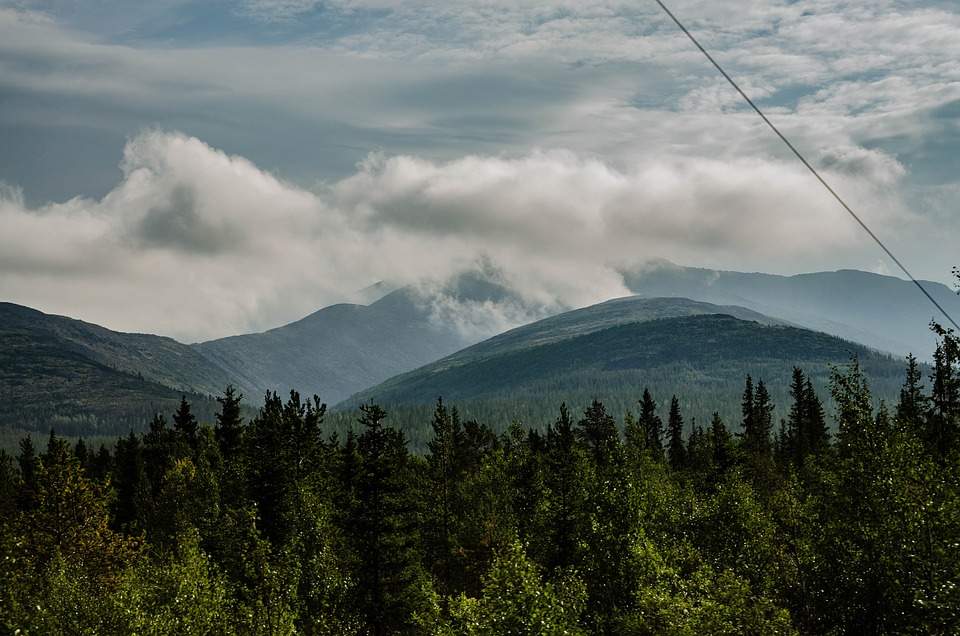Russia, Mountains, Landscape, Nature, Mountain, Summer