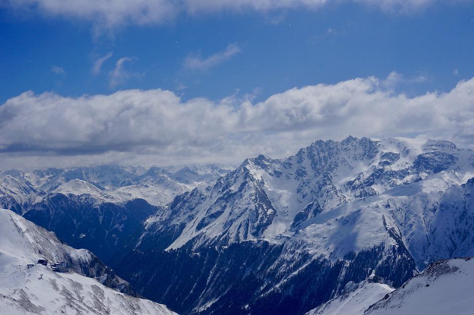 Mountain, Skiing, Snow, Nature, Winter Sports, Alpine
