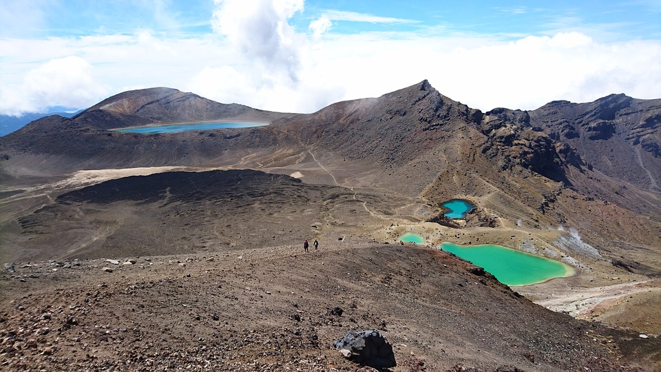 Nature, Volcano, Landscape, Travel, Mountain, Sky