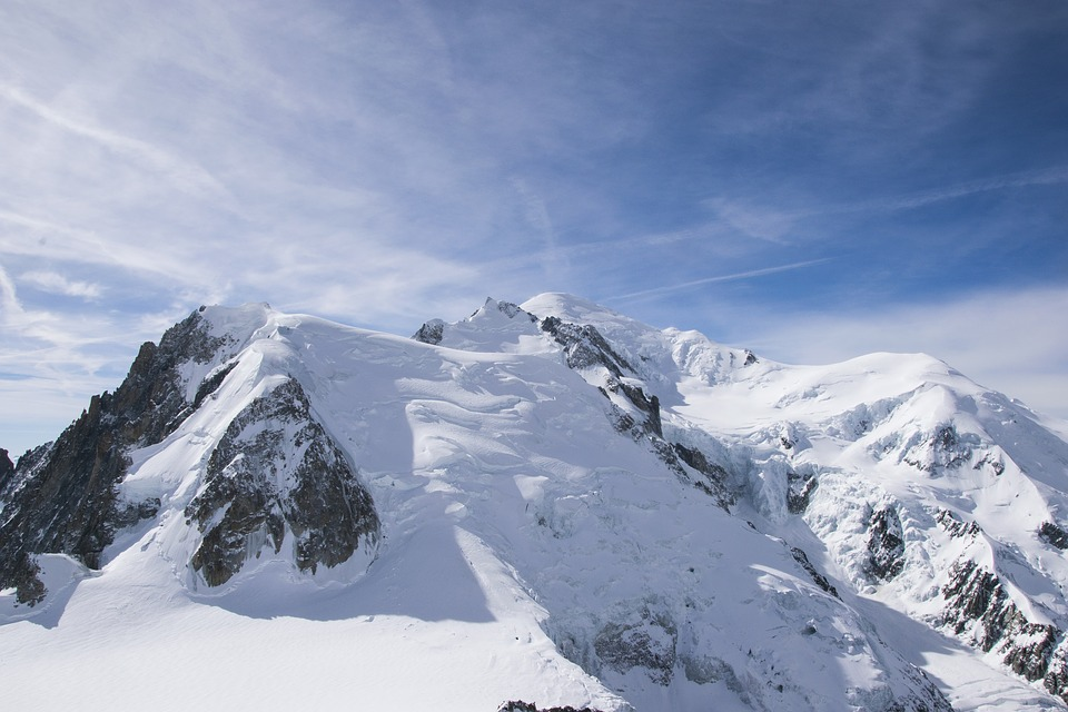 Mont Blanc, Alps, Mountain, Peaks, Nature, Snow