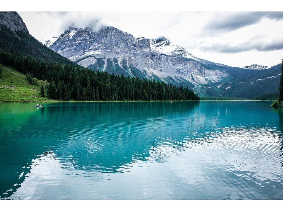Water, Nature, Mountain, Snow, Lake