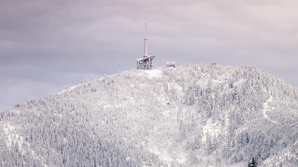 Mountain, Snow, Lysa Hora, Transmitter