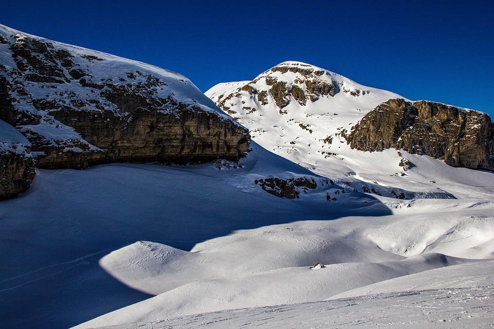 Mountain, Snow, Nature, Winter, Ski, France
