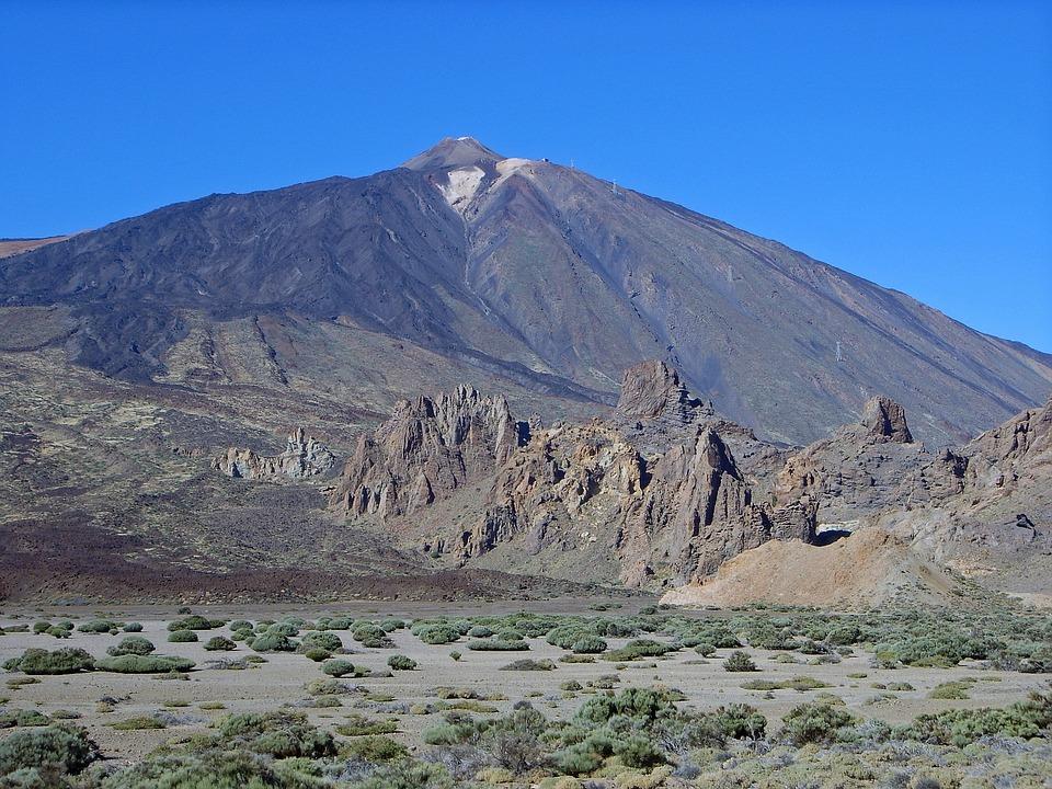 Teide, Tenerife, Spain, Mountain, National Park