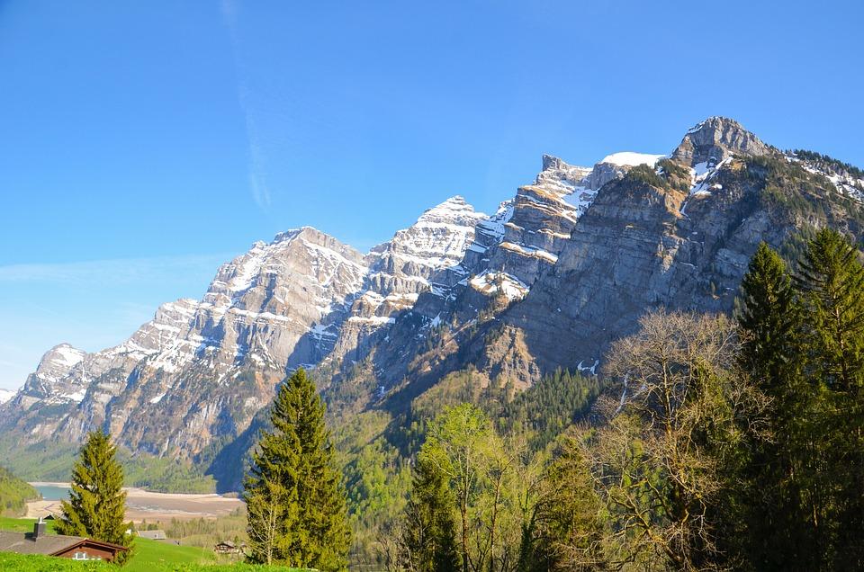 Mountain Summit, Mountains, Glärnisch, Massif, Summit