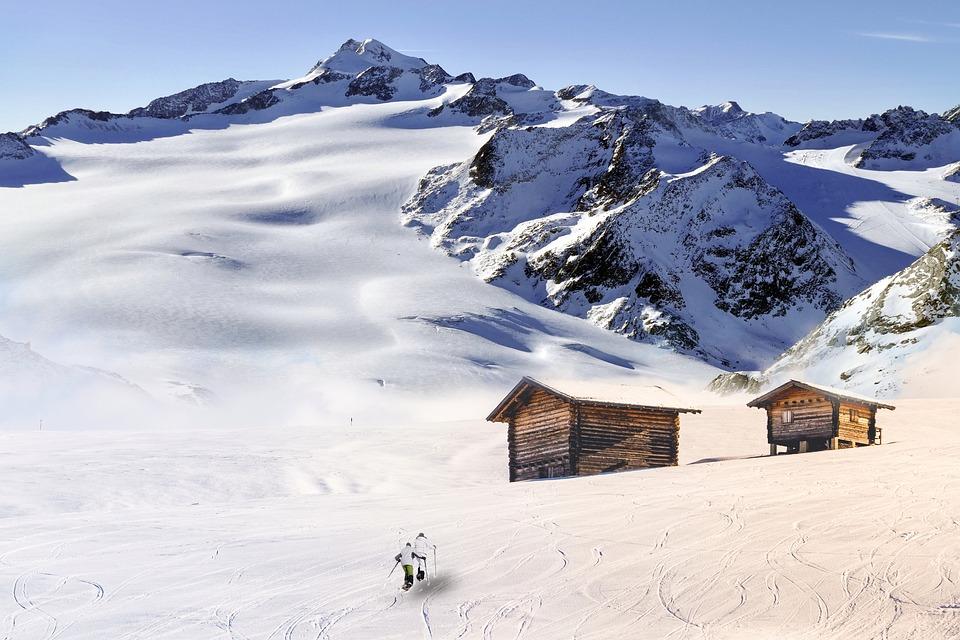 Snow, Winter, Mountain, Cold, Mountain Summit, Panorama