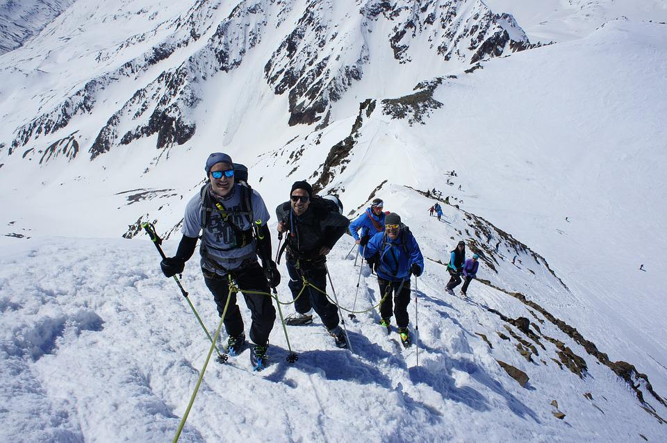 Increase In, Summit, Mountain, Mountaineering
