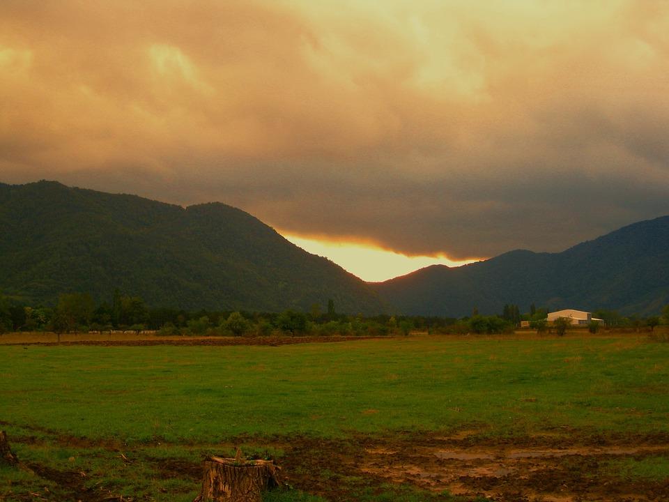 Georgia, Nature, Travel, Mountain, Landscape, View