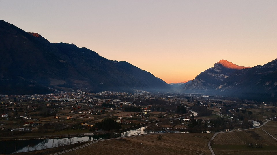 Mountain, Panoramic, Travel, Nature, Landscape, Waters