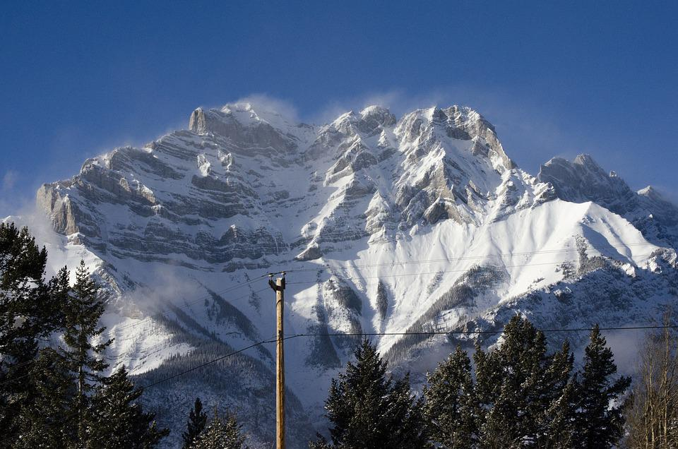 Nature, Mountain, Winter, Season, Outdoors, Travel