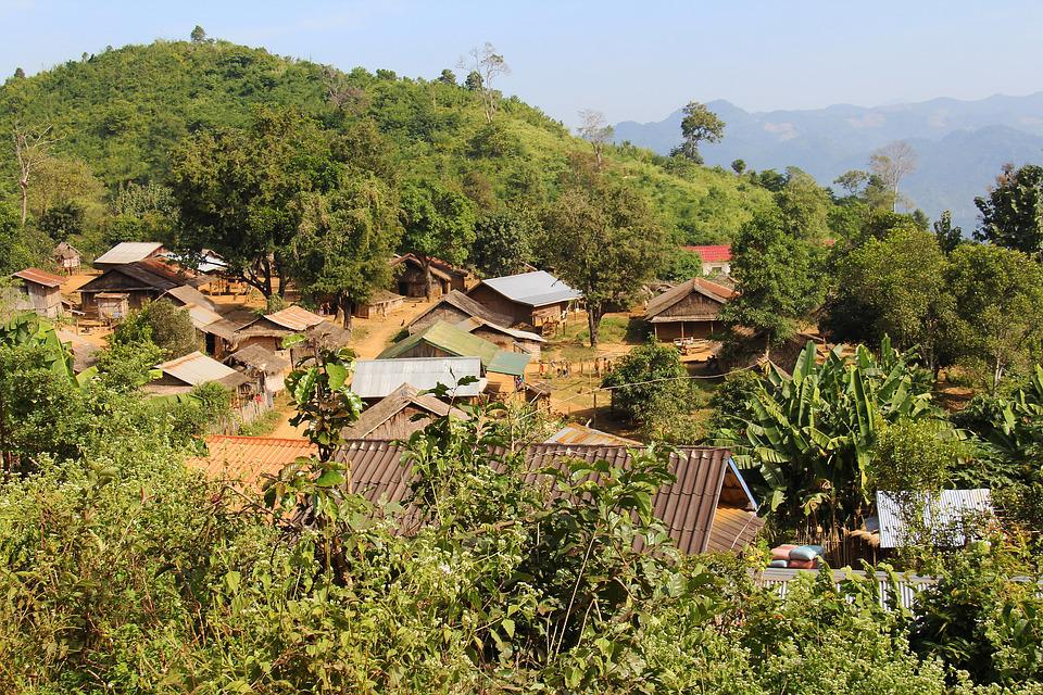 Village, Mountain, Houses, Nature, Scenery, Travel