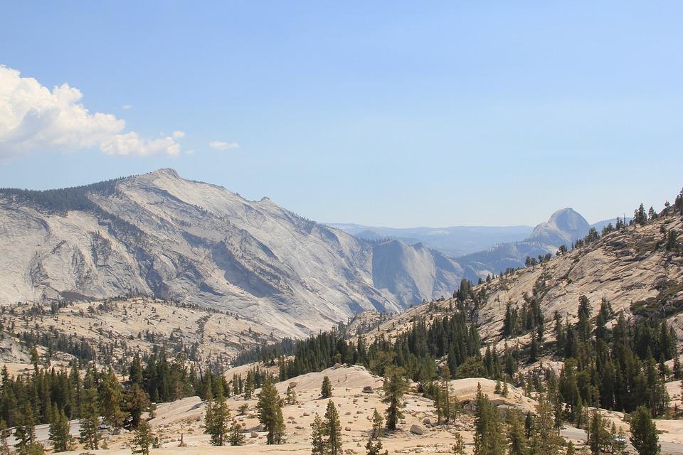Mountain Range, Yosemite, Mountain, Range, Nature