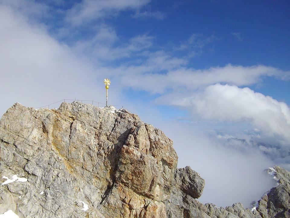 Zugspitze, Alpine, Mountain, Bavaria, Mountaineering