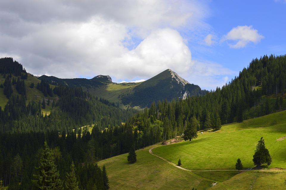 Landscape, Austria, Mountains, Clouds, Nature, Reported