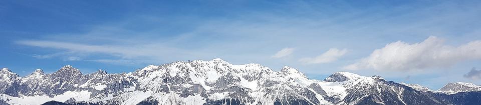 Mountain Range, Mountains, Mountain Panorama, Austria