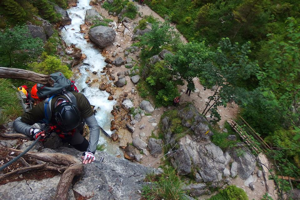 Via Iron Port, Mountains, Climbing, Austria, Mountain