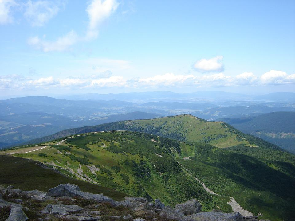 Mountains, Beskids, Babia Top