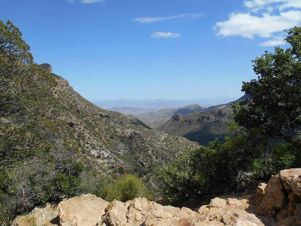 Lost Mine Trail, Big Bend National Park, Mountains