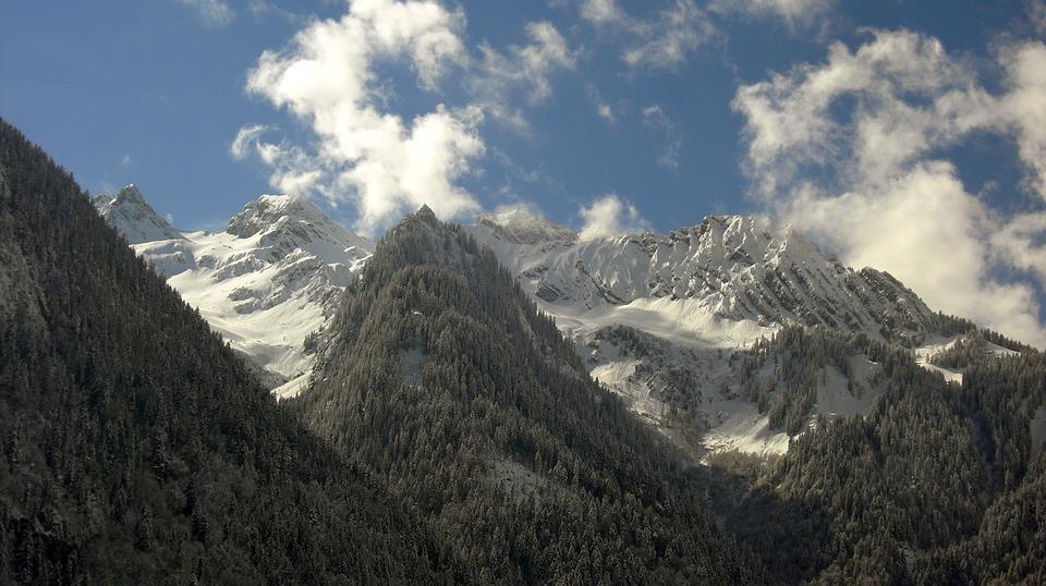 Bludenz, Winter, Mountains, Snow, Landscape, Wintry