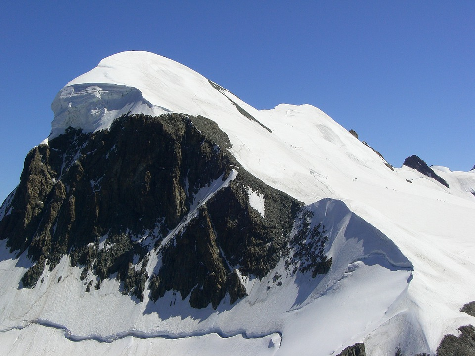 Breithorn, Alpine, Valais, Snow, Series 4000, Mountains