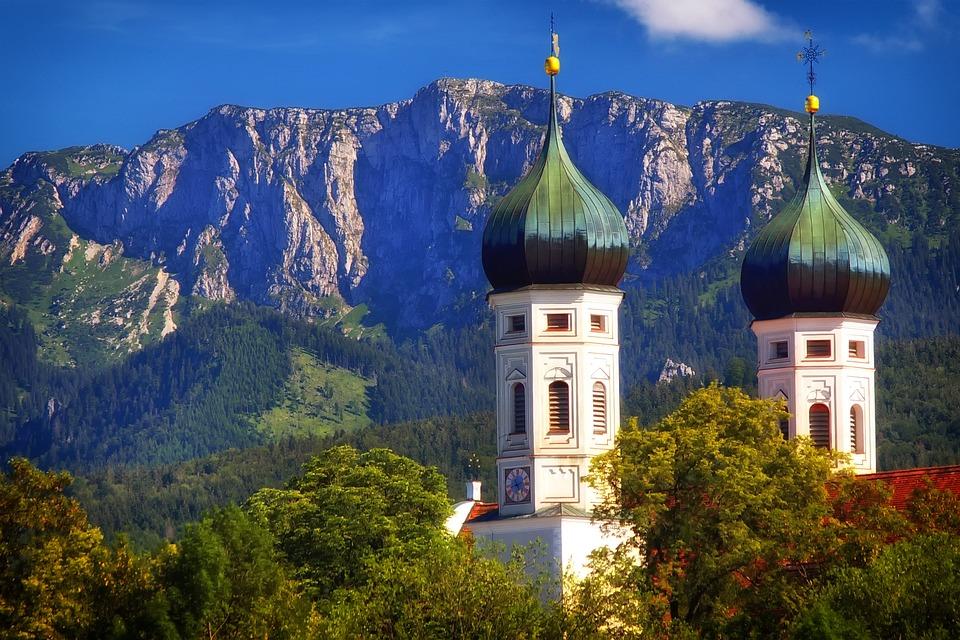 Monastery, Church, Faith, Religion, Towers, Mountains
