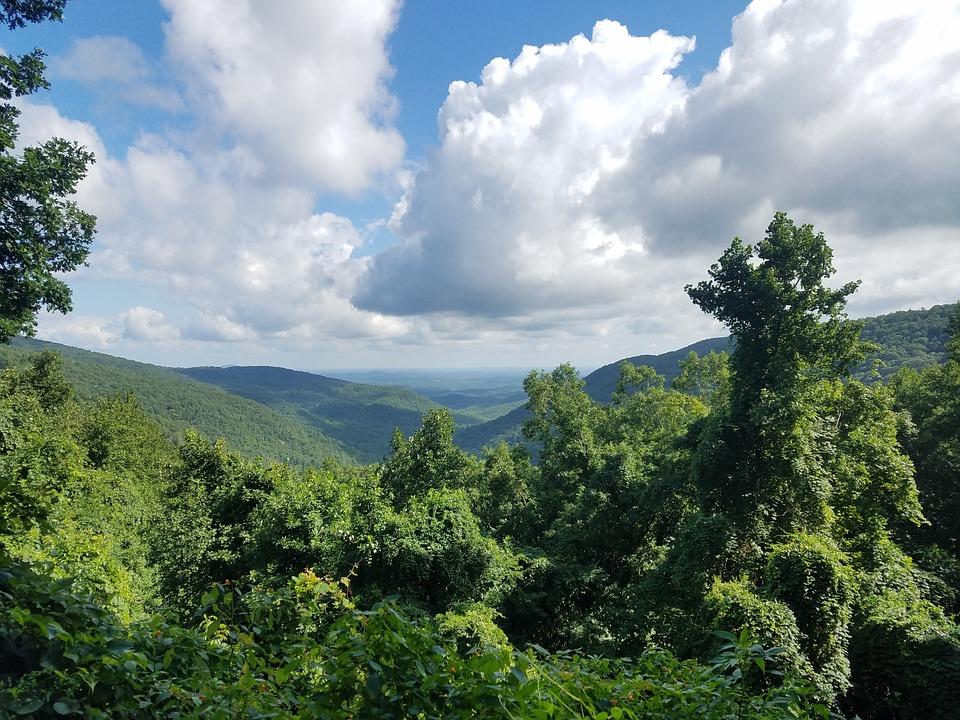 Georgia, Mountains, Landscape, Nature, Sky, Cloud