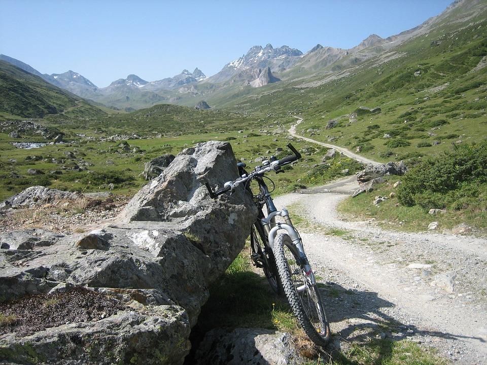 Mountain Bike, Cycling, Bike, Away, Mountains, Transalp