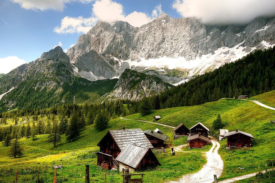 Dachstein, Austria, Nature, Landscape, Mountains