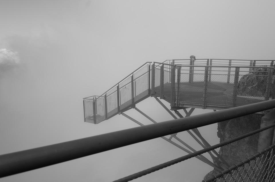 Dachstein, Skywalk, Mountains, Austria, Lookout