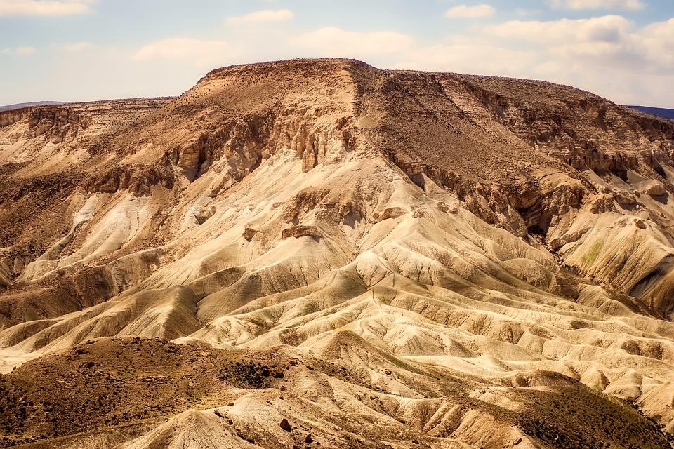 Mountains, Desert, Barren, Remote, Landscape, Nature