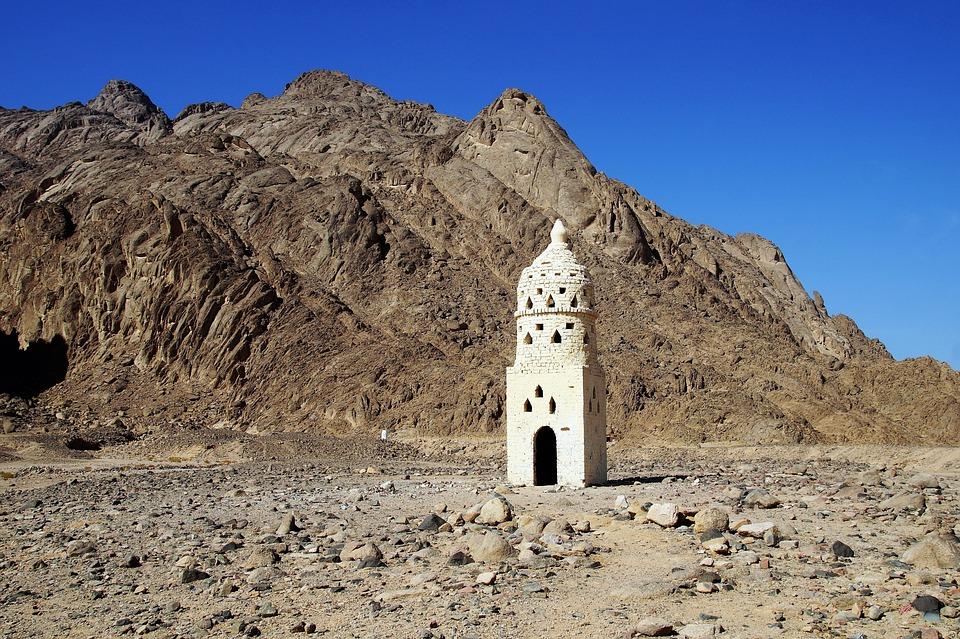 Desert, Mountains, Sand, Egypt, Heat, Drought