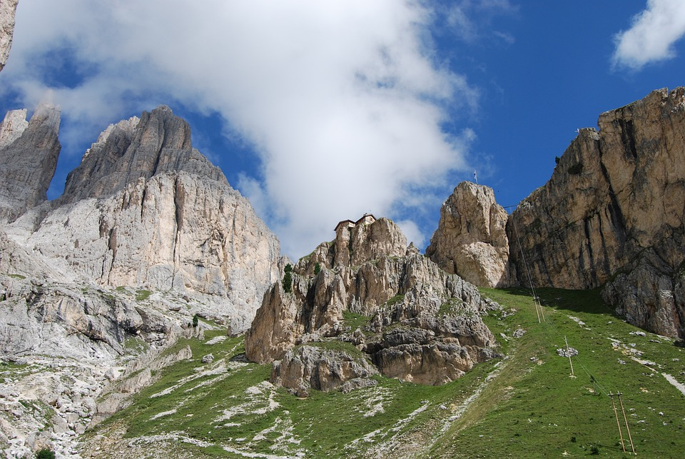 Mountain, Mountains, Dolomites, Italy, Hiking, Trekking