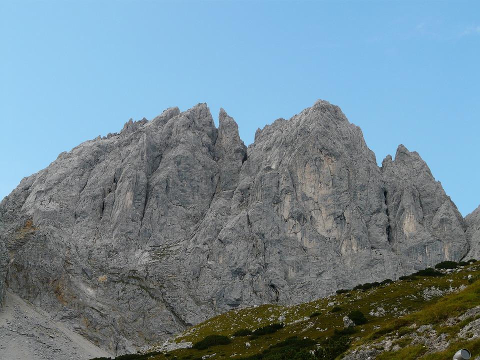 Ellmauer Halt, Mountains, Alpine, Wilderkaiser