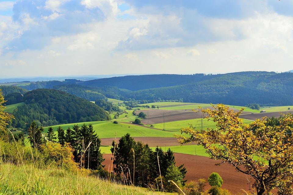 View, Autumn, Landscape, Nature, Mountains, Forest