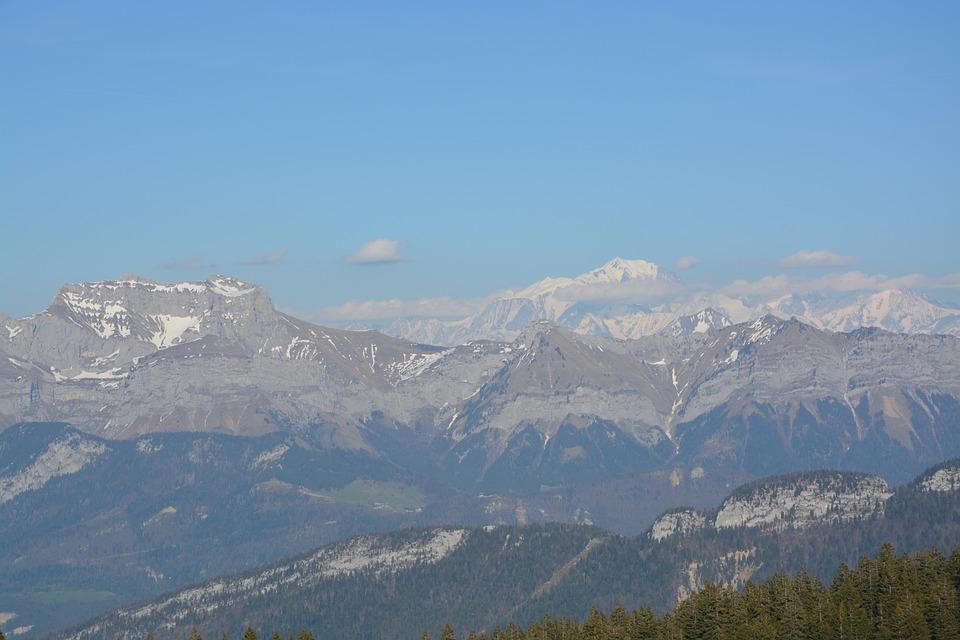 Mountains, Haute Savoie, Haute-savoie, Landscape