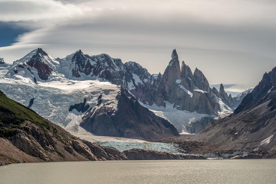 Mountains, Lake, Lagoon, Glacier, Trekking, Cerro Torre