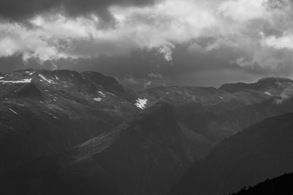 Mountain Landscape, Mountains, Alaska, Landscape