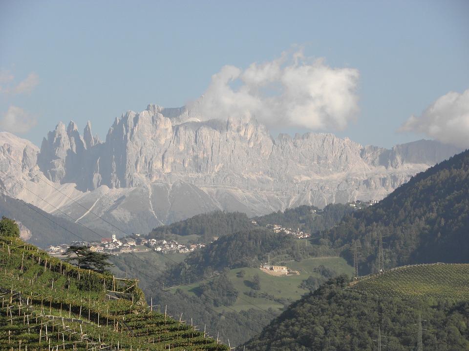 Landscape, Mountains, Dolomites