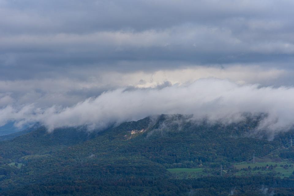 Mountain, Fog, Mountains, Landscape, Nature, Sky