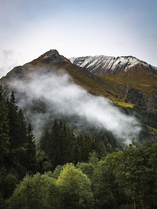 Alpine, Mountains, Landscape, Nature, Summit, Sky