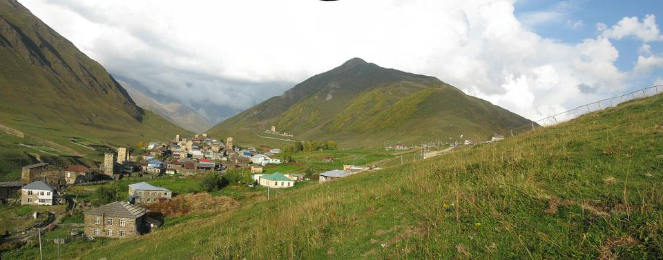 Ushguli, Georgia, Village, Nature, Landscape, Mountains