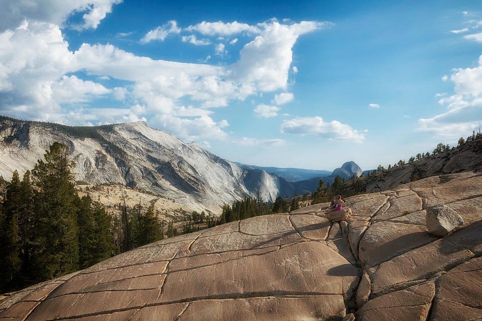 Yosemite, National Park, Mountains, Landscape, Sky