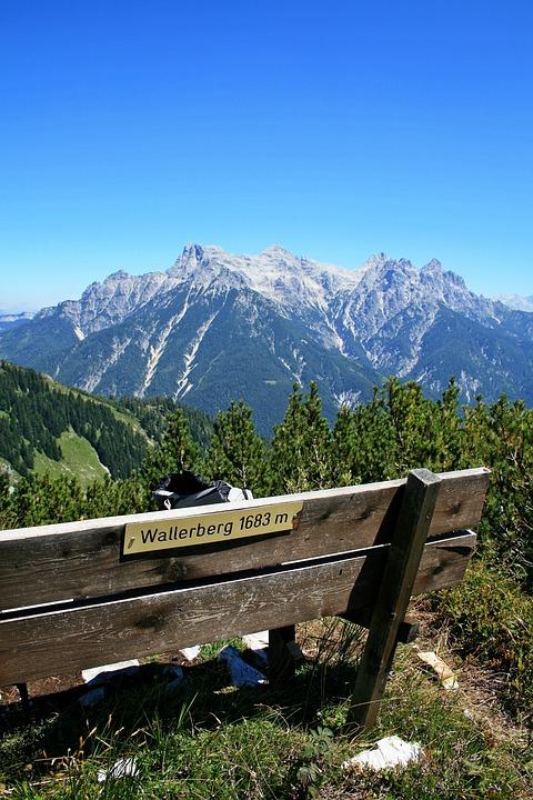 Waller Mountain, Summit, Bank, Mountain, Mountains